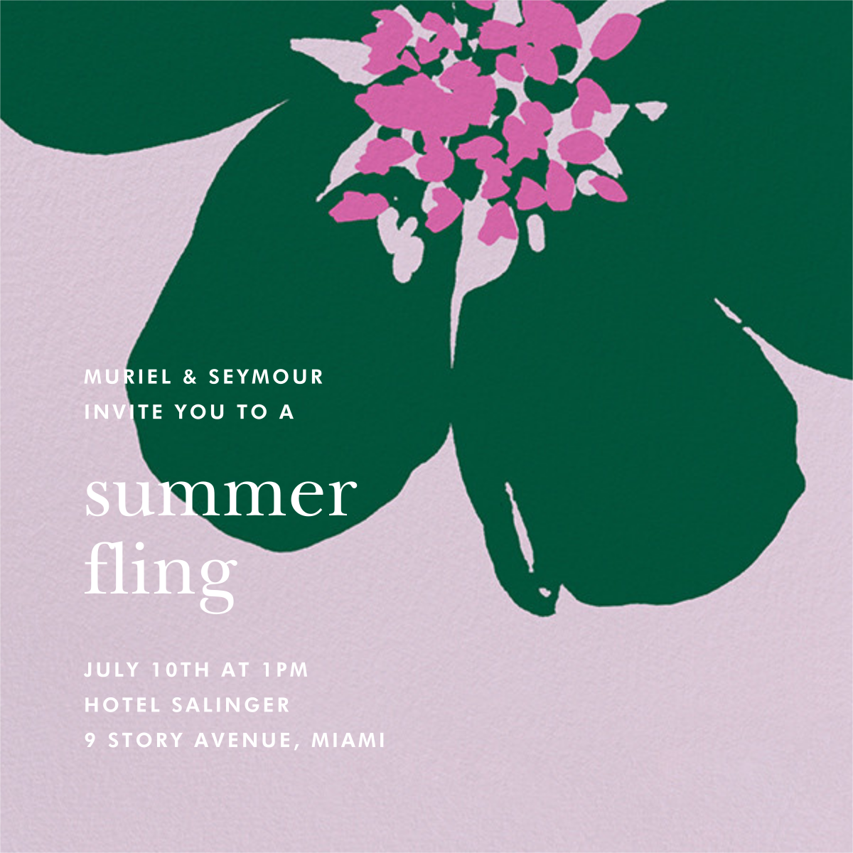 Grand Flora - Hydrangea - kate spade new york - General entertaining