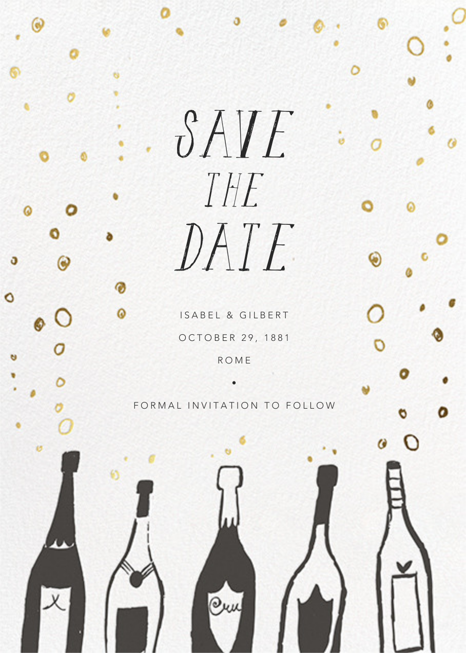 Uncorked - Mr. Boddington's Studio - Save the date