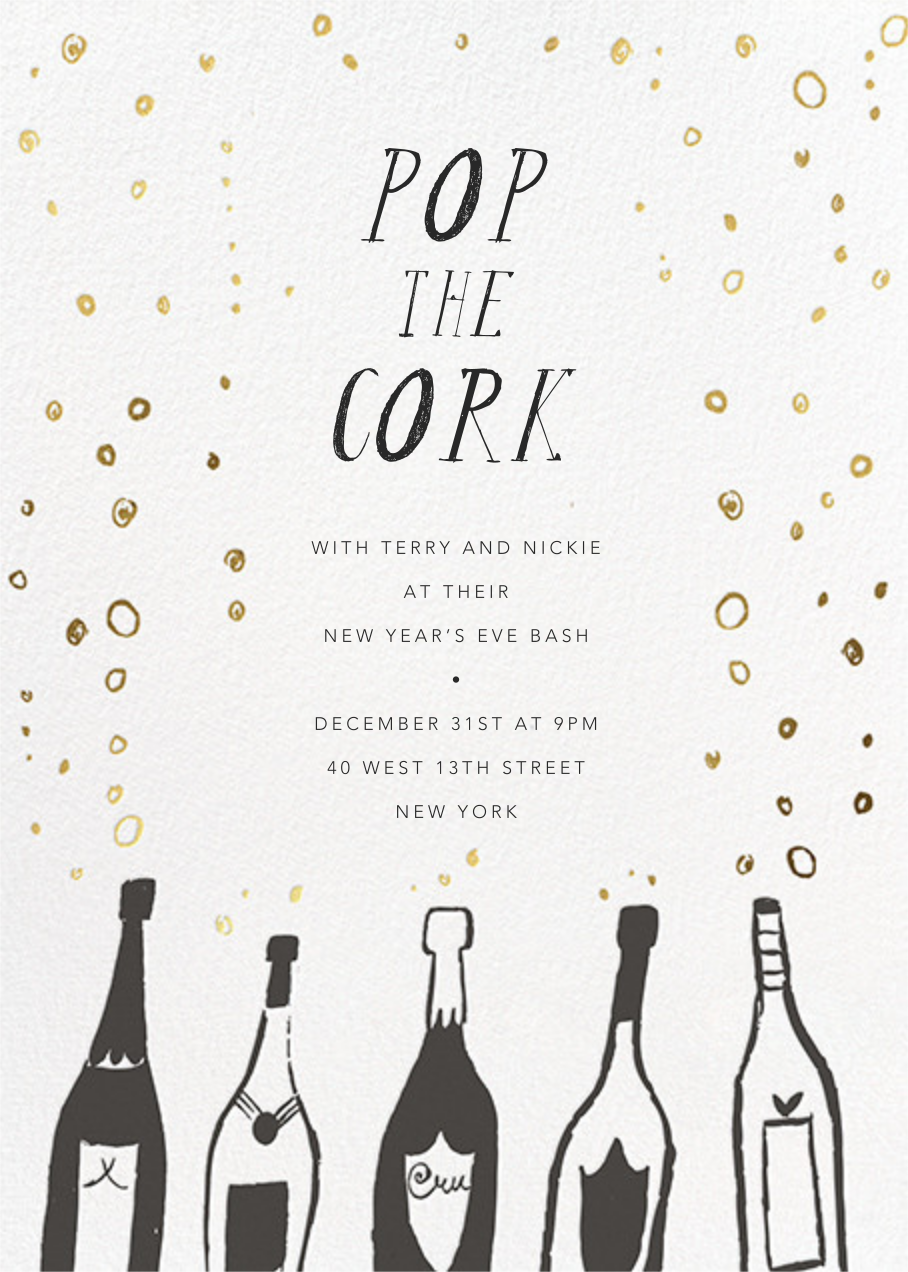 Uncorked - Mr. Boddington's Studio - New Year's Eve