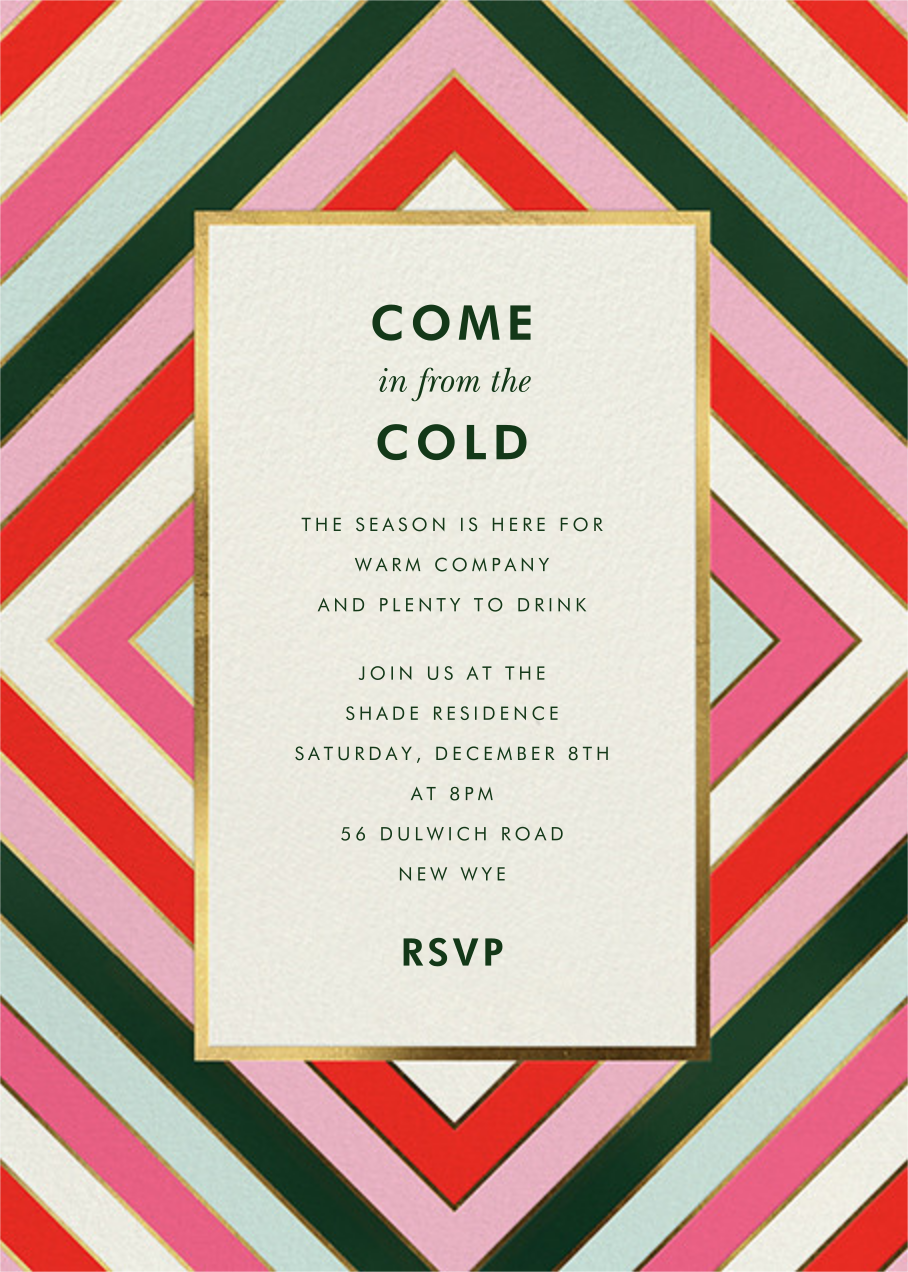 Mod Stripes - kate spade new york - Holiday party