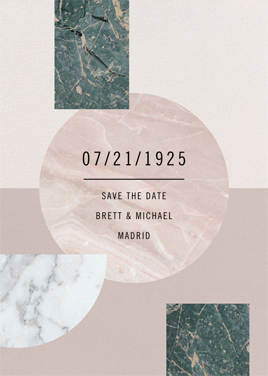 Maçonnerie - Paperless Post - Save the date