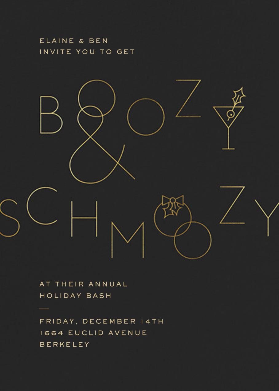 Boozy and Schmoozy - Caviar - Paperless Post - Winter entertaining