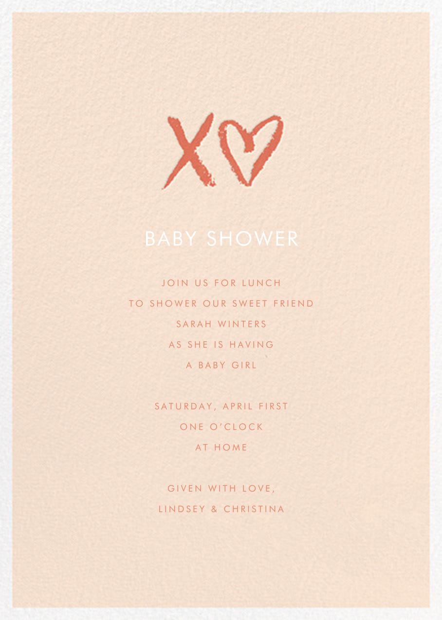 Sweet Chalk - Meringue - Sugar Paper - Baby shower
