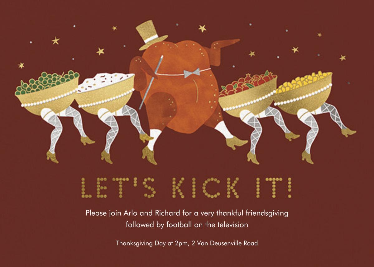 Turkey Legs - Paperless Post - Thanksgiving
