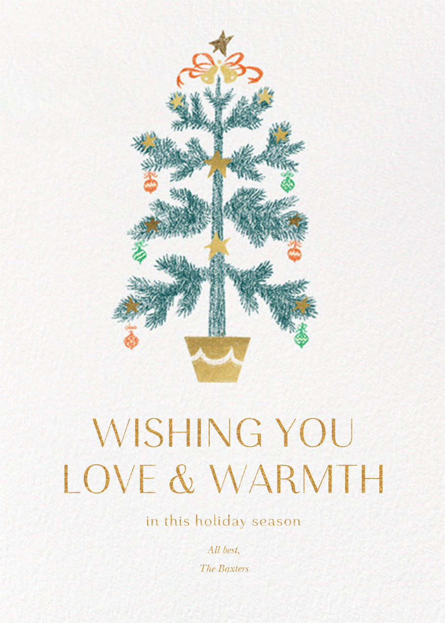 Bells and Ribbons - Paperless Post - Holiday cards