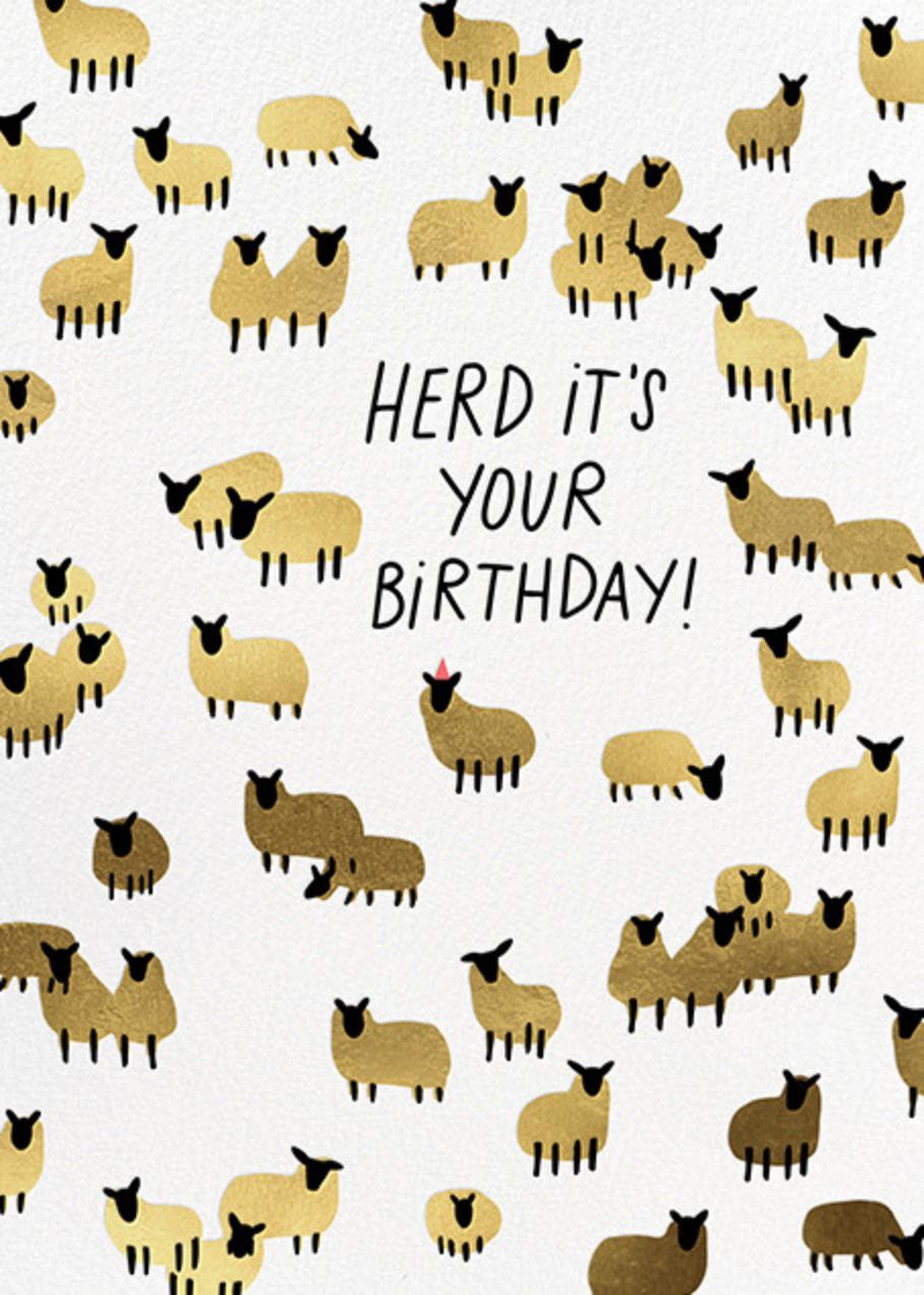 Ewe Rock - Hello!Lucky - Birthday