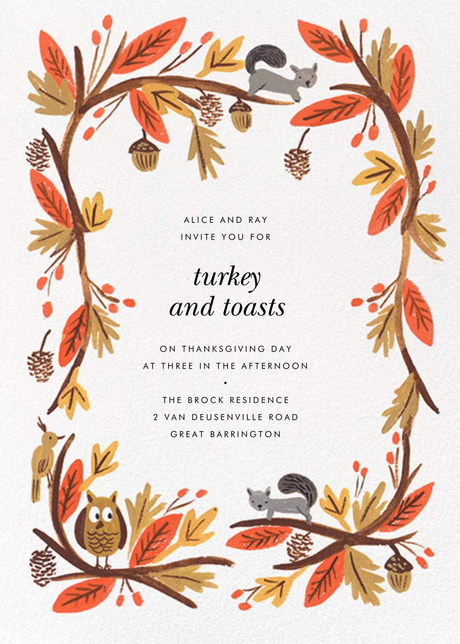 Fall Foliage - Rifle Paper Co. - Autumn entertaining
