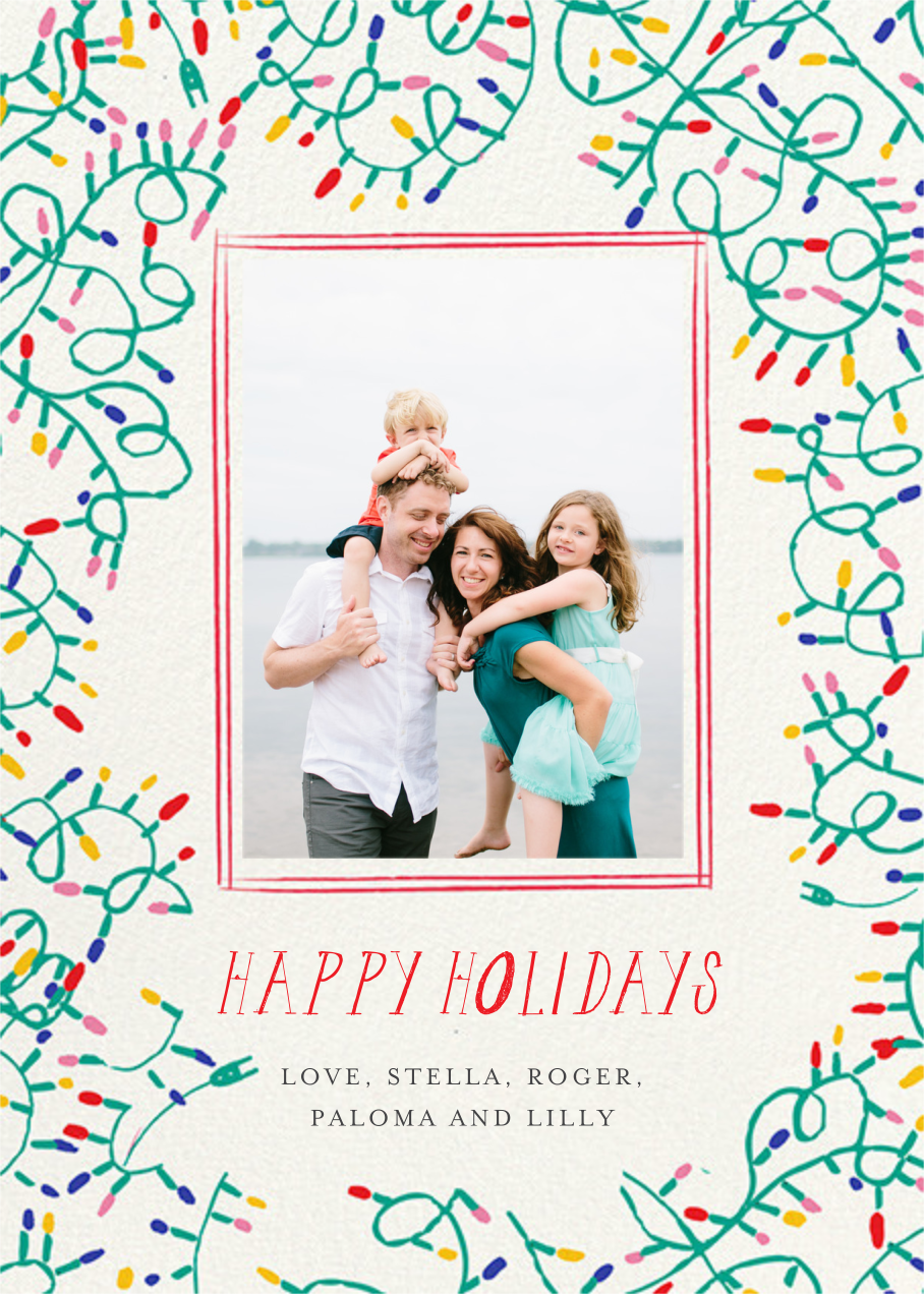 Light It Up Photo - Mr. Boddington's Studio - Holiday cards