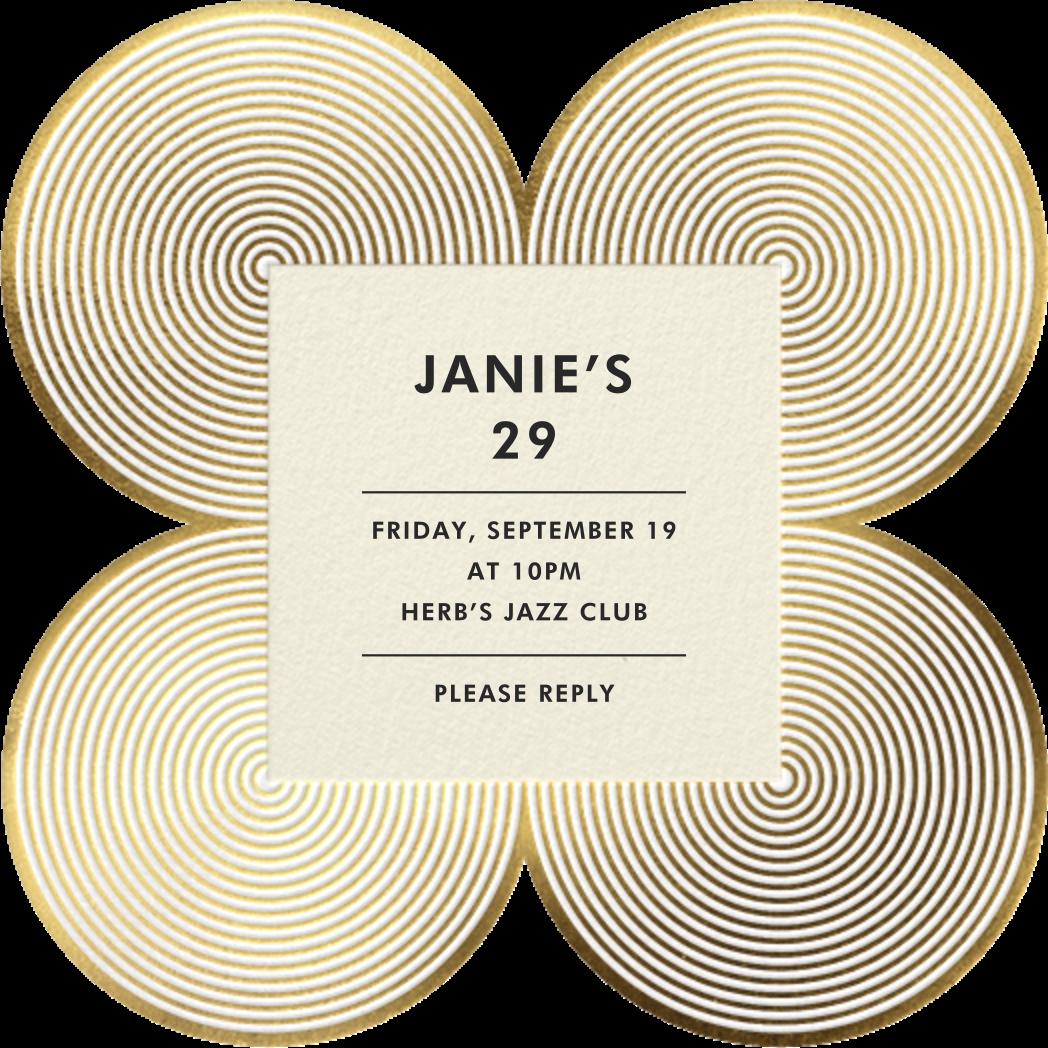 Melrose - Gold - Jonathan Adler - Adult birthday