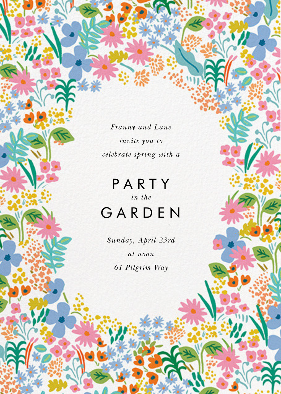 Spring Meadow - Rifle Paper Co. - Spring parties