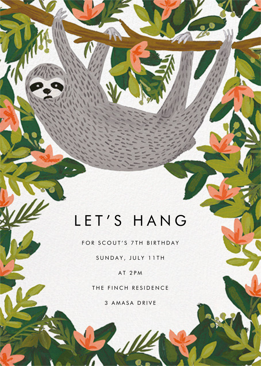 Let's Hang - White - Rifle Paper Co. - Kids' birthday