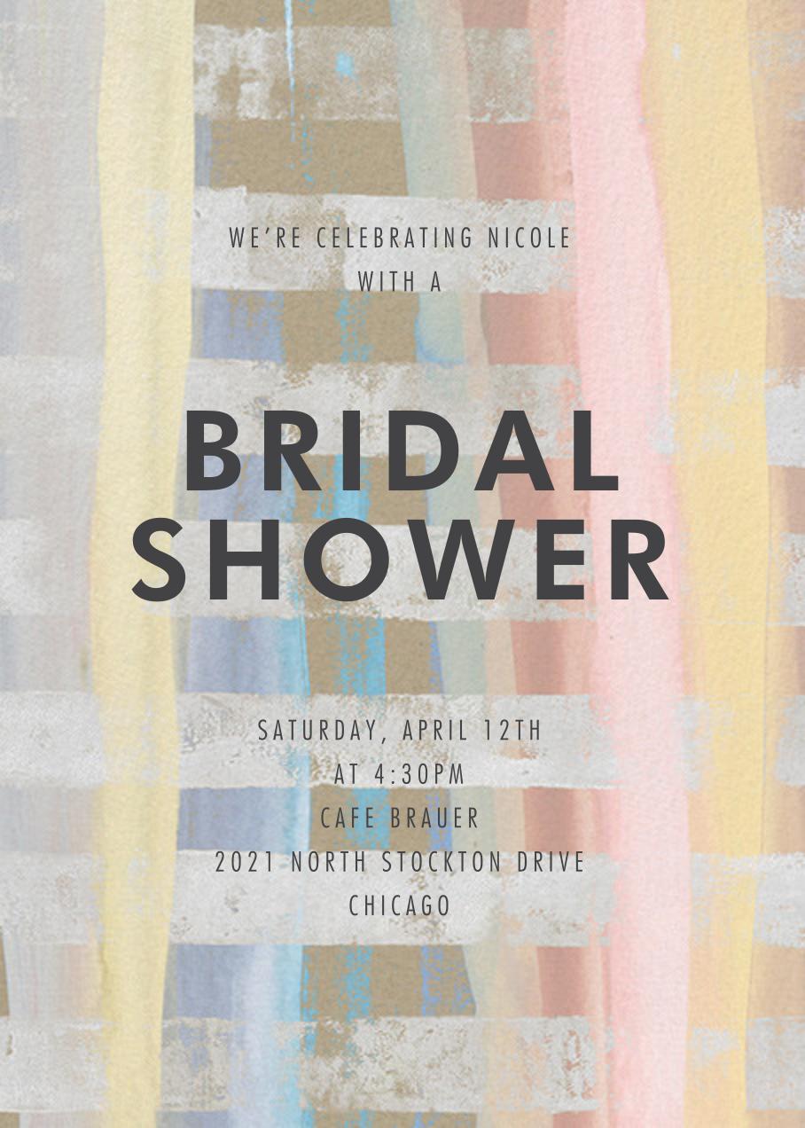 Aglow Stripe - Kelly Wearstler - Bridal shower