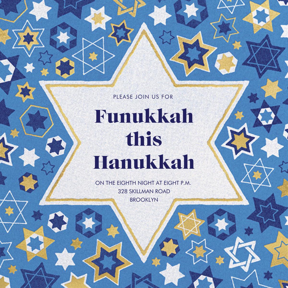 Six Points - Paperless Post - Hanukkah