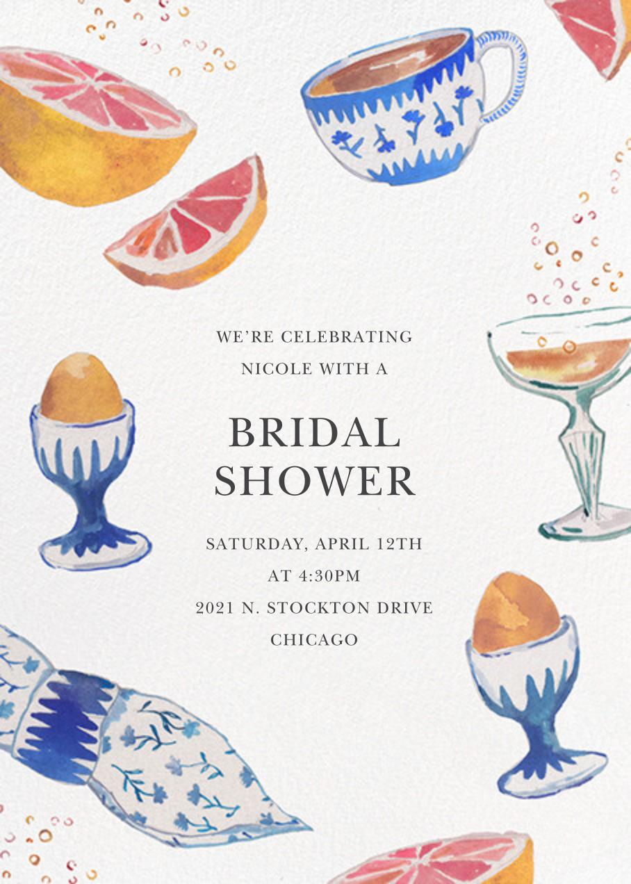Brunch and Bubbles - Happy Menocal - Bridal shower
