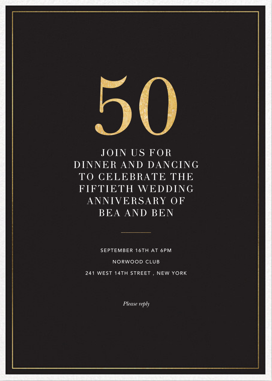 Refined Birthday - Sugar Paper - Anniversary party