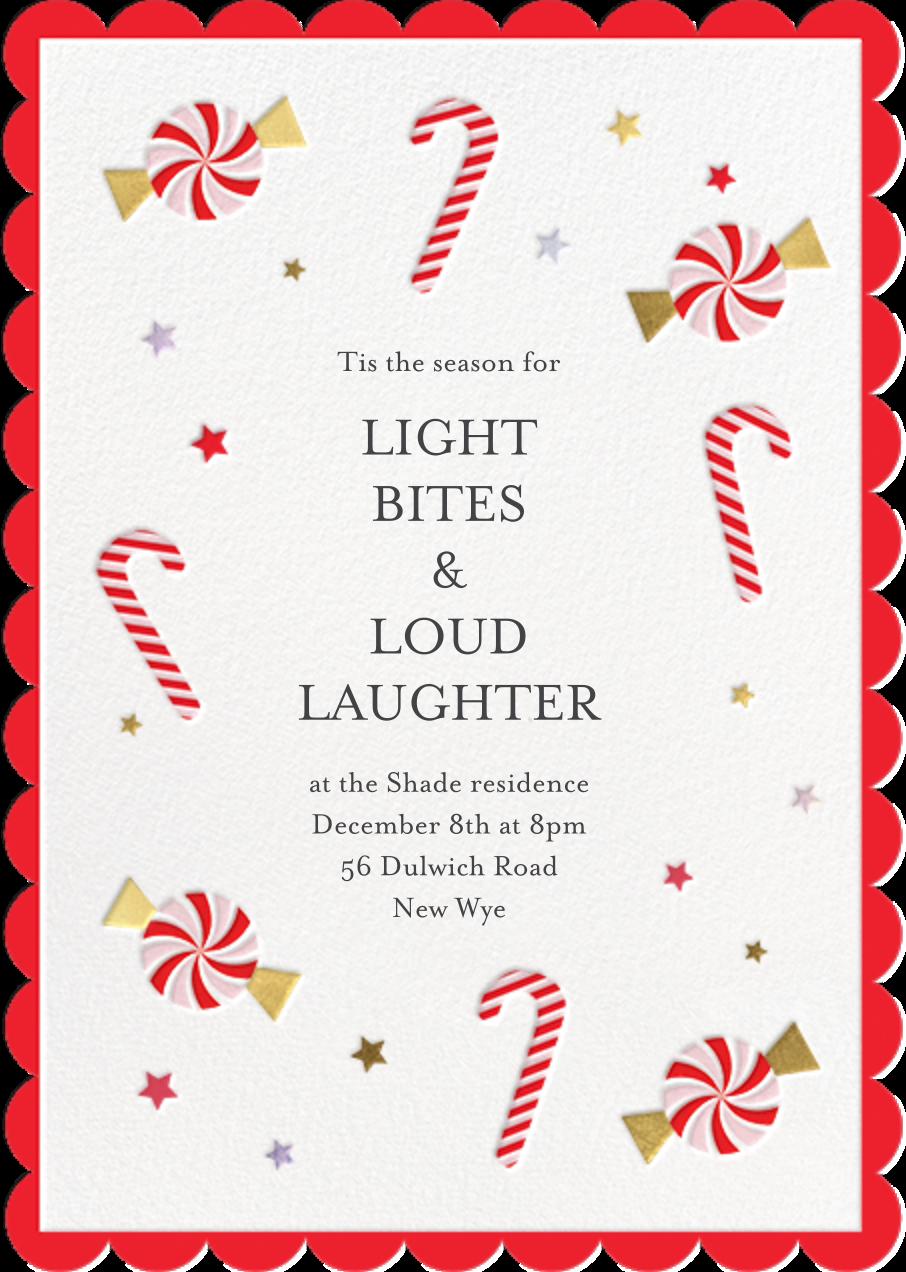 Candy Cane Delight - Meri Meri - Christmas party