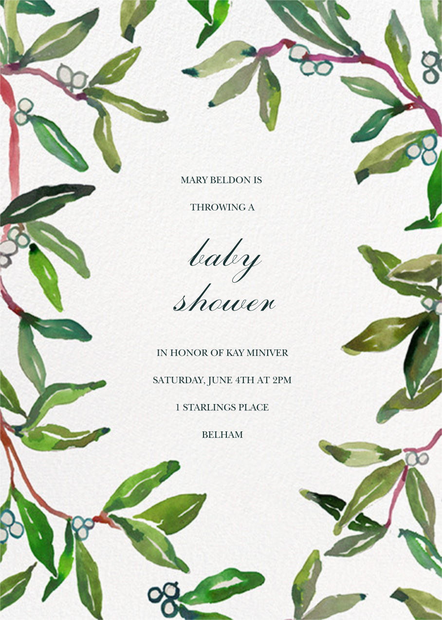 Hollyday Party - Happy Menocal - Baby shower