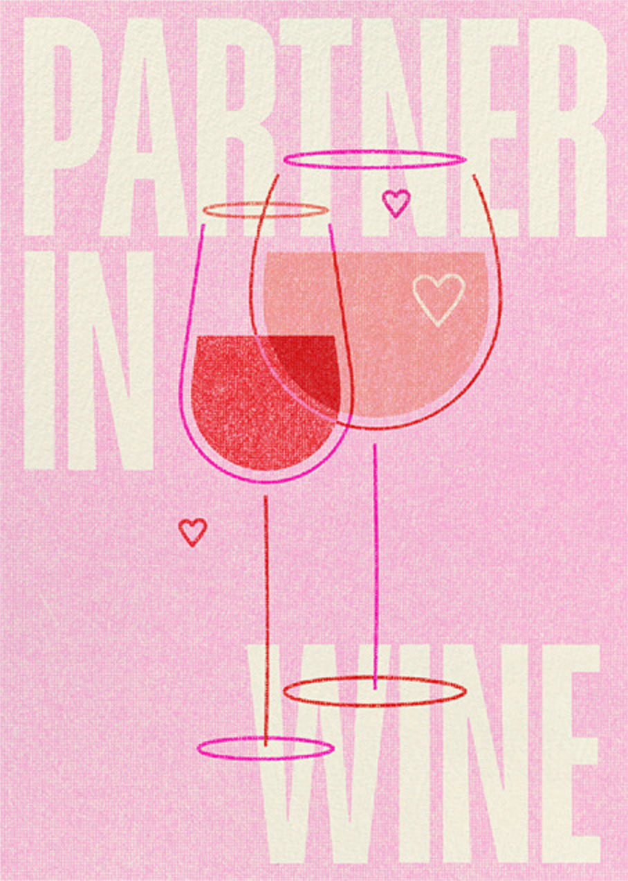 Partner in Wine - Paperless Post - Anniversary cards