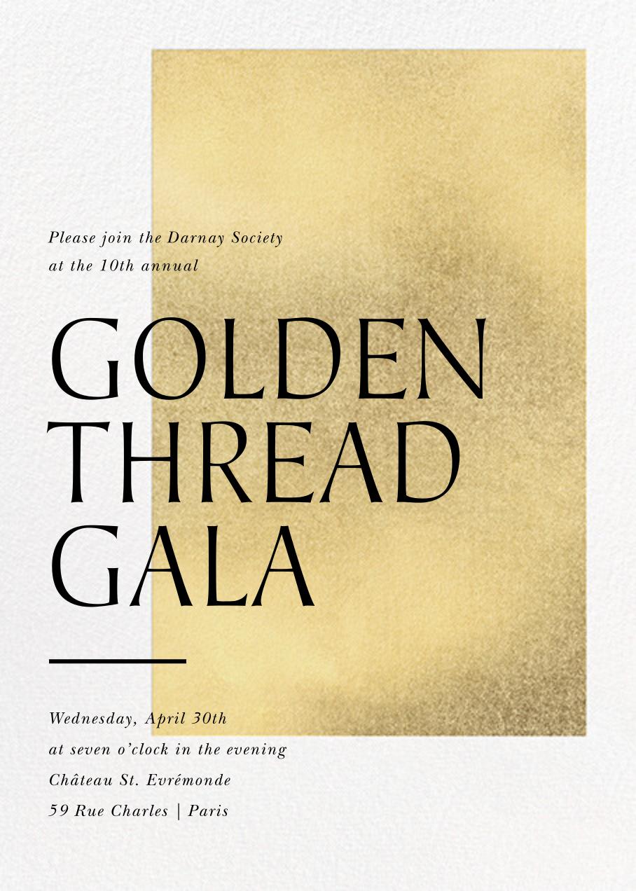 Modern Gold - Paperless Post - Reception