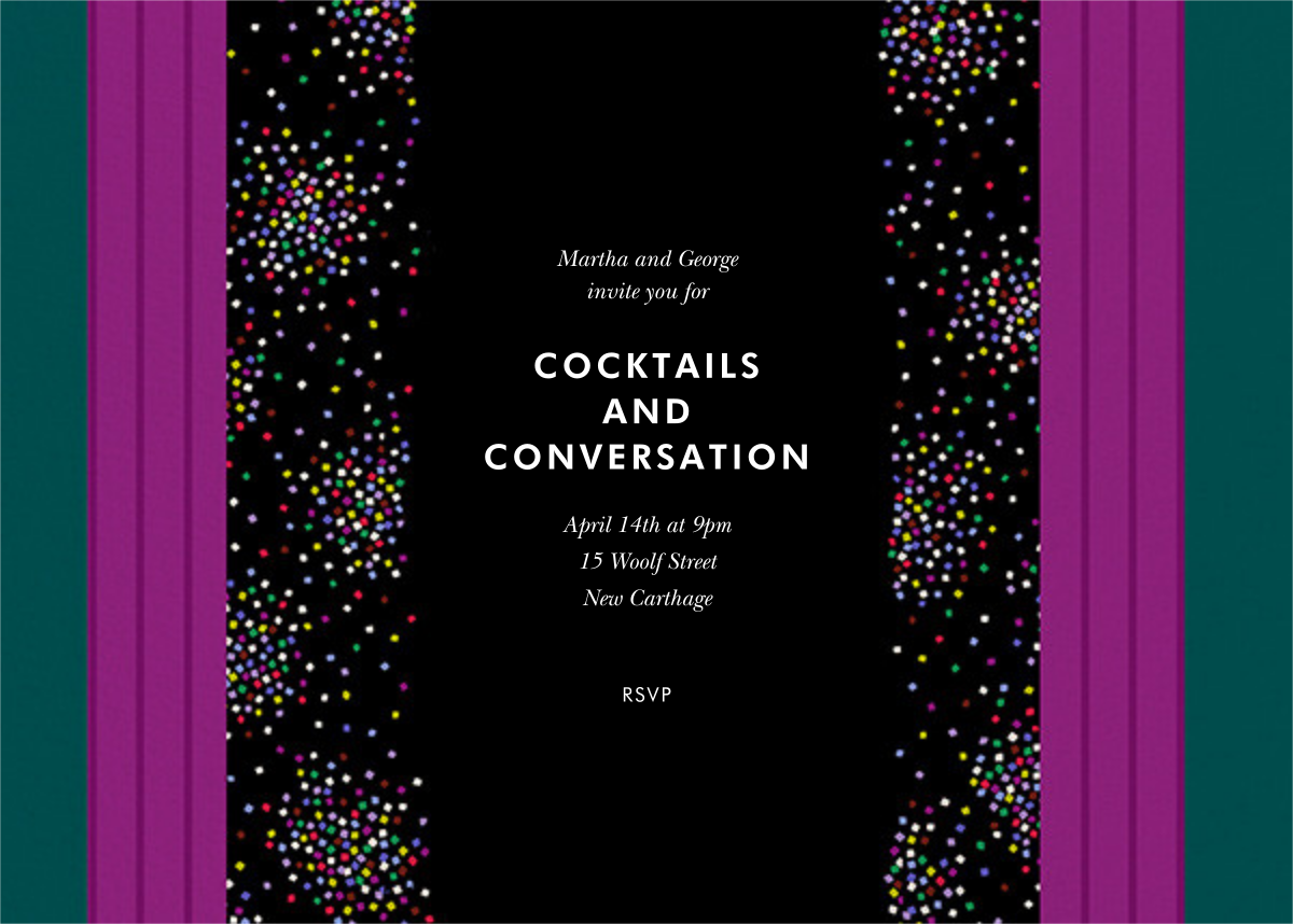 Confetti Panels - kate spade new york - Cocktail party