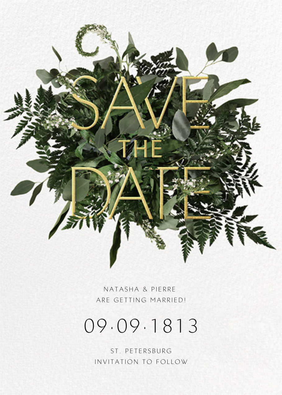Love Abounds - Paperless Post - Save the date