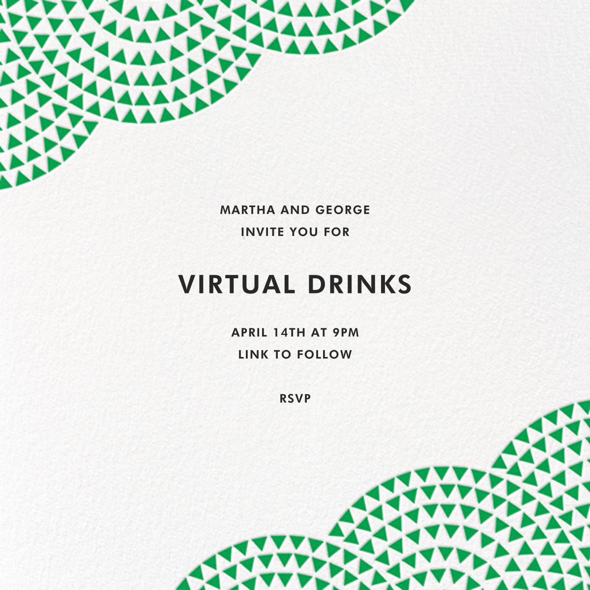 Savoy - Emerald - Paperless Post - Virtual parties