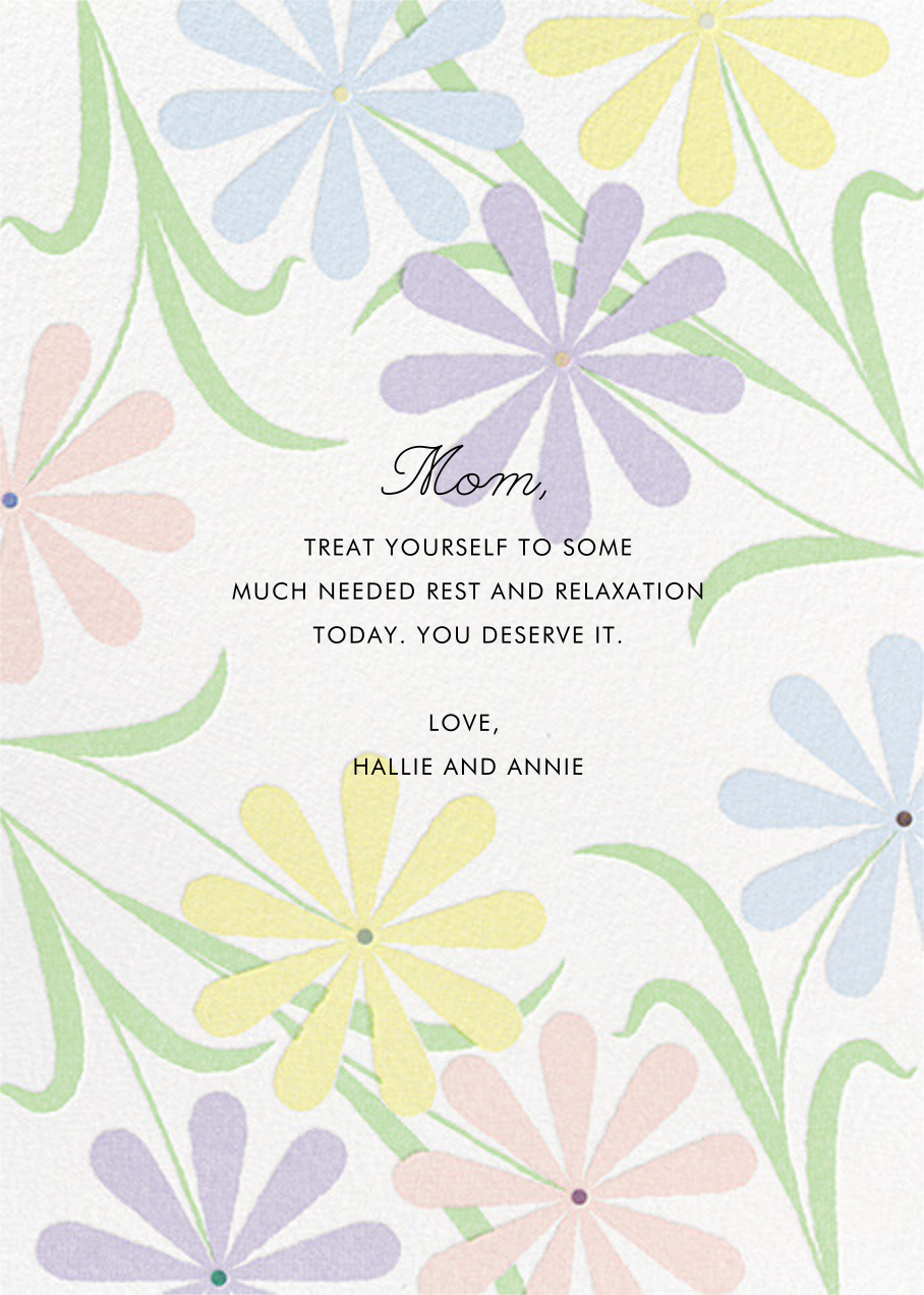 Spring Daisies - Paperless Post - Mother's Day