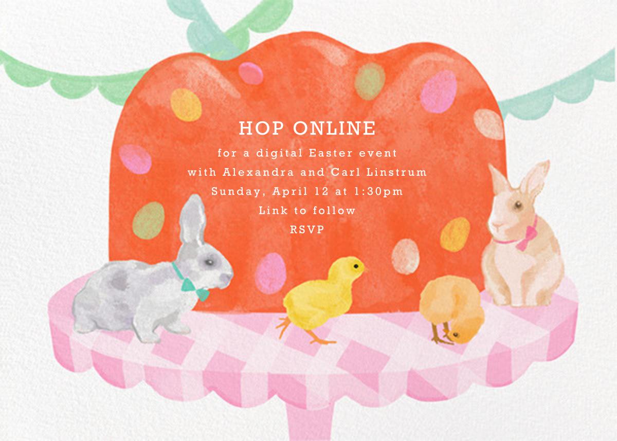 Easter Dessert - Paperless Post - Easter
