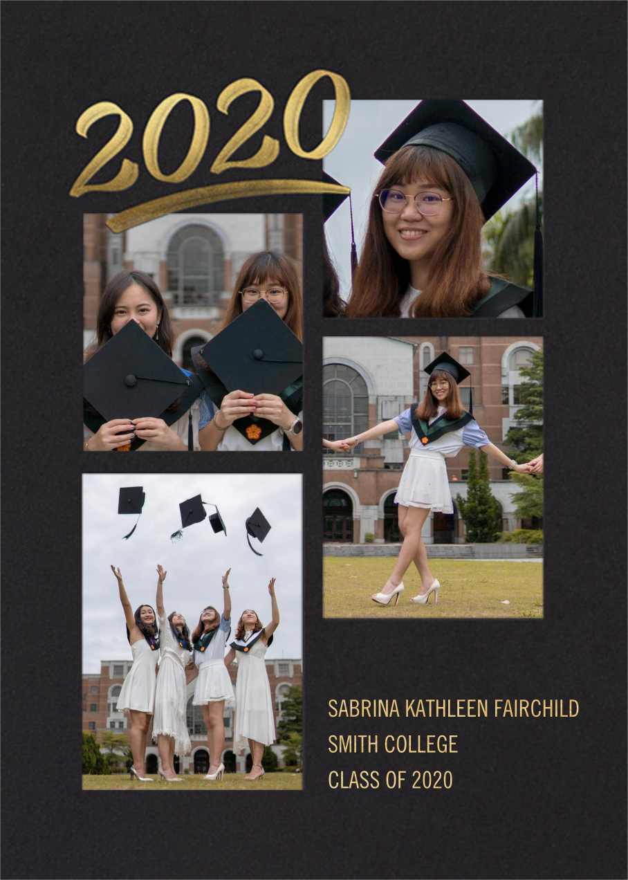 Scrapbooked - Paperless Post - Graduation
