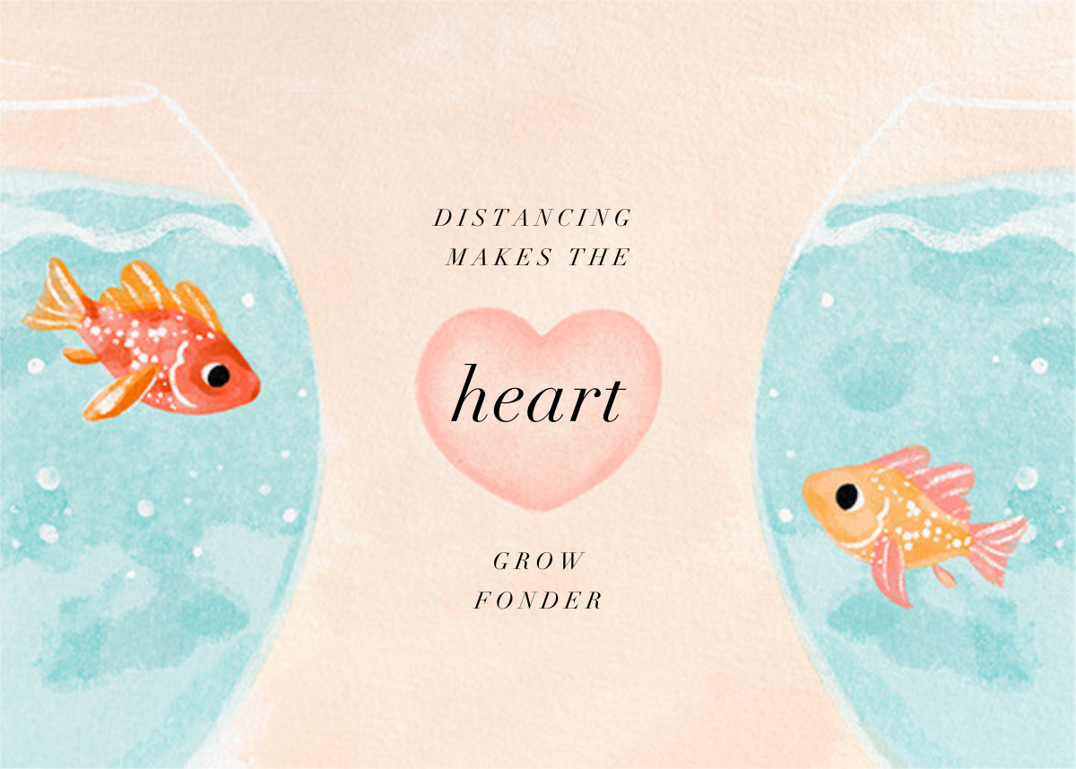 Fish Love - Paperless Post - Thinking of you