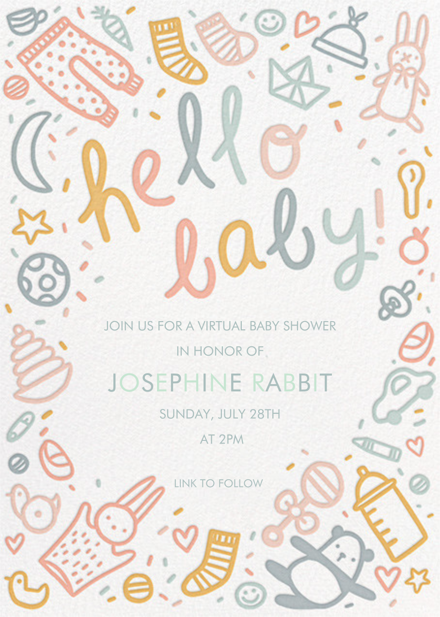 Baby Doodle - Hello!Lucky - Baby shower