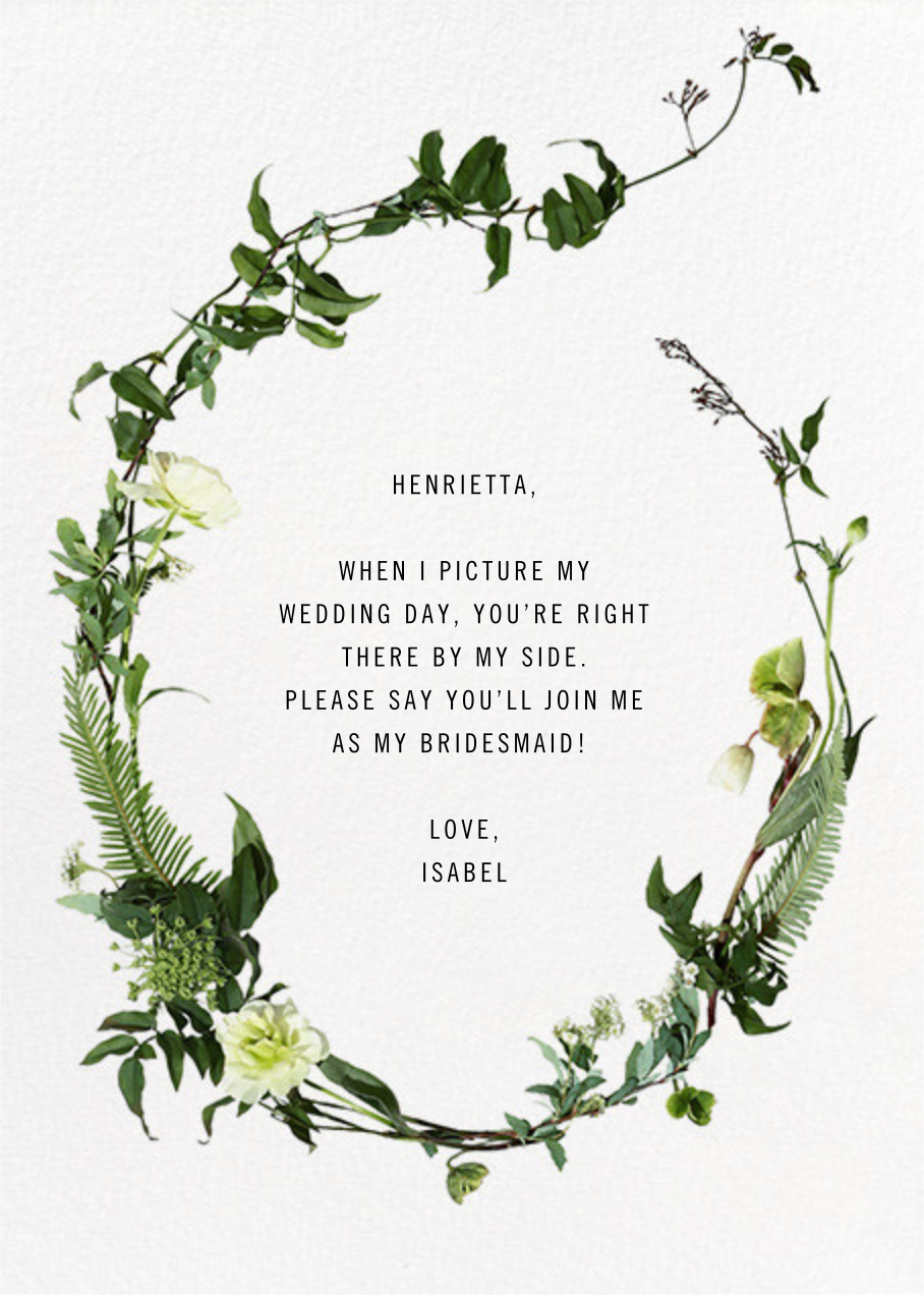Chincoteague - Paperless Post - Wedding party requests