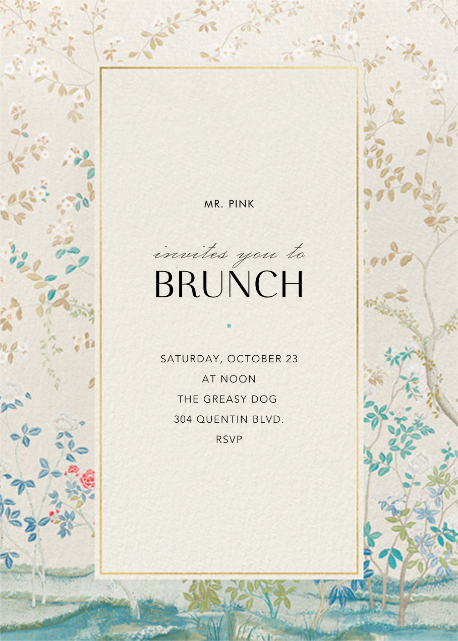 Ladylike - Schumacher - Brunch