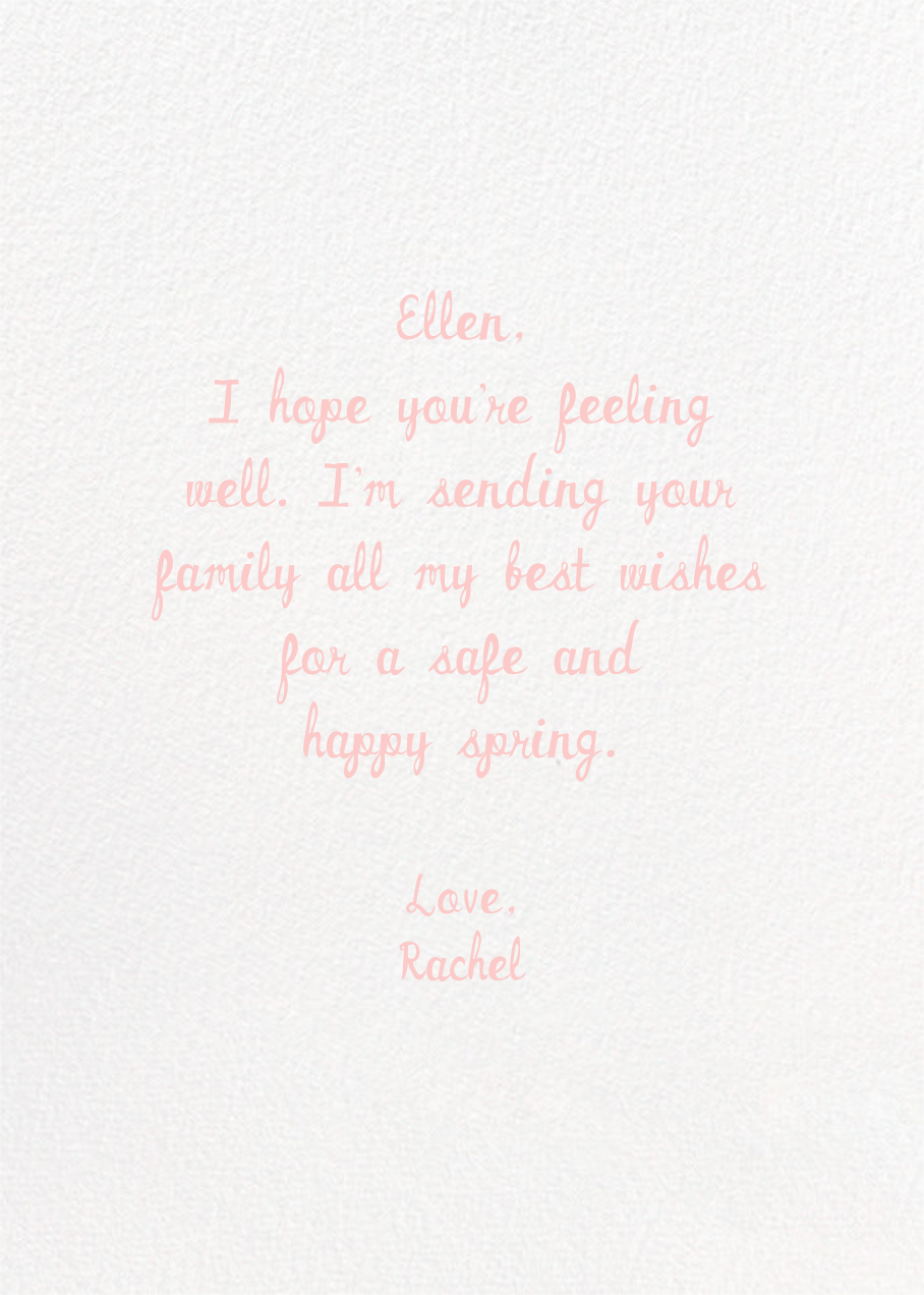 Love Mug - Hello!Lucky - Thinking of you - card back