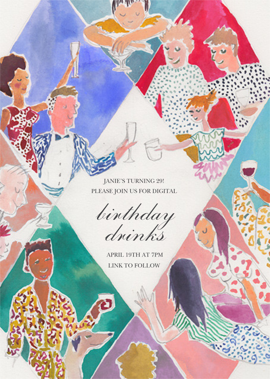 Internet Connection - Happy Menocal - Adult birthday