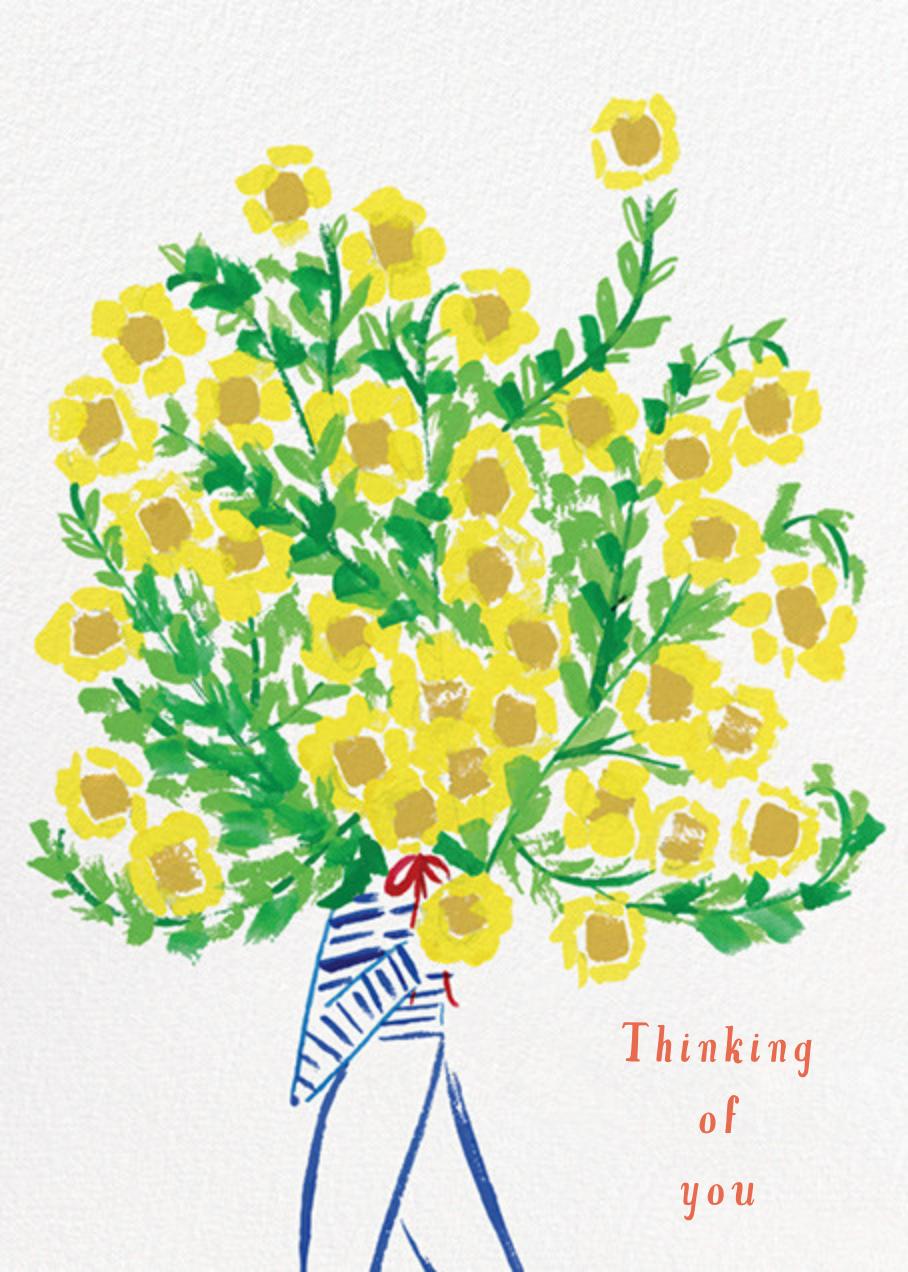 Flower You? - Mr. Boddington's Studio - Thinking of you