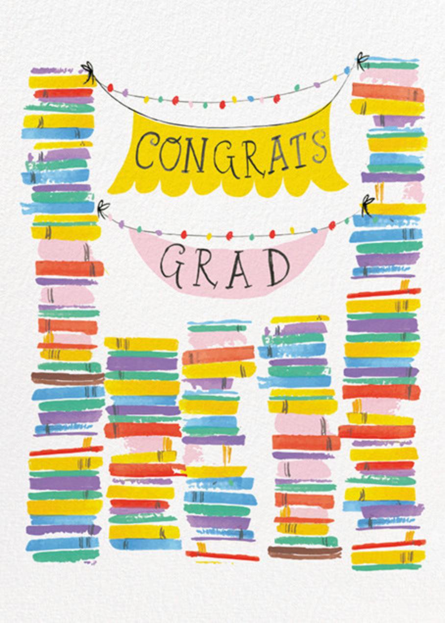 Grad Stacks - Mr. Boddington's Studio - Graduation