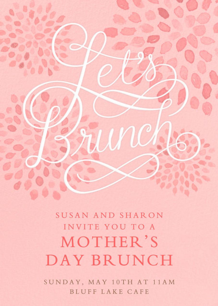Let's Brunch - Crate & Barrel - Mother's Day
