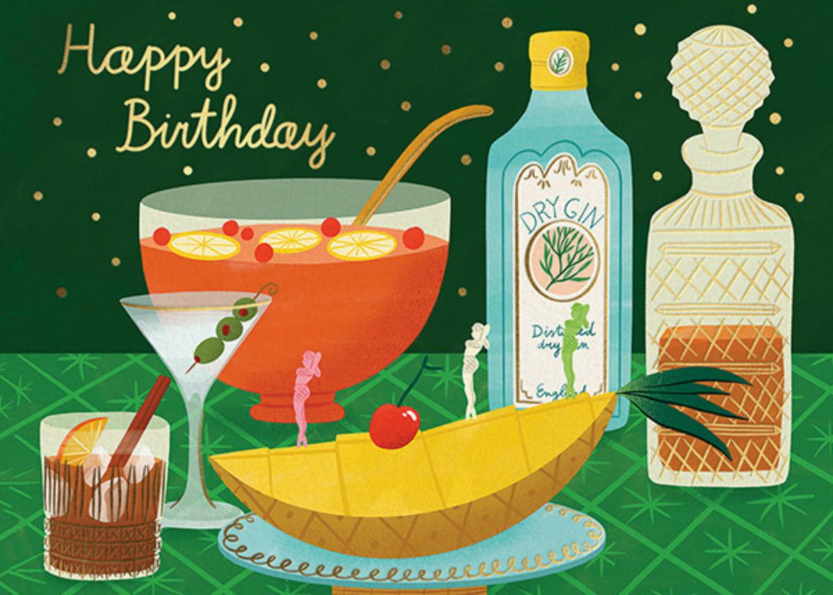 Birthday Bar - (Bodil Jane) - Red Cap Cards
