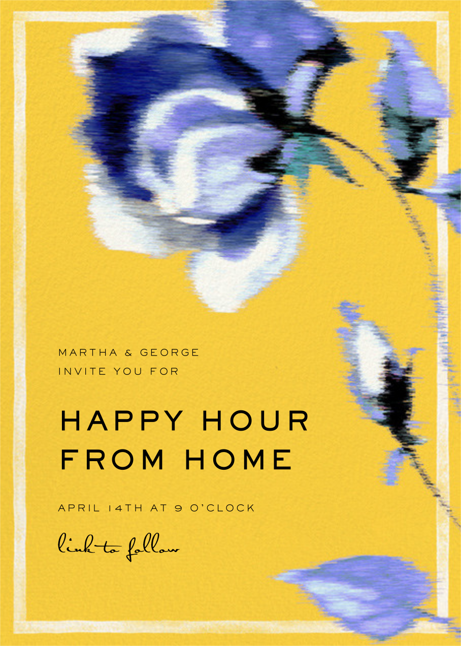 Abstracted Bloom - Yellow - Carolina Herrera - Happy hour