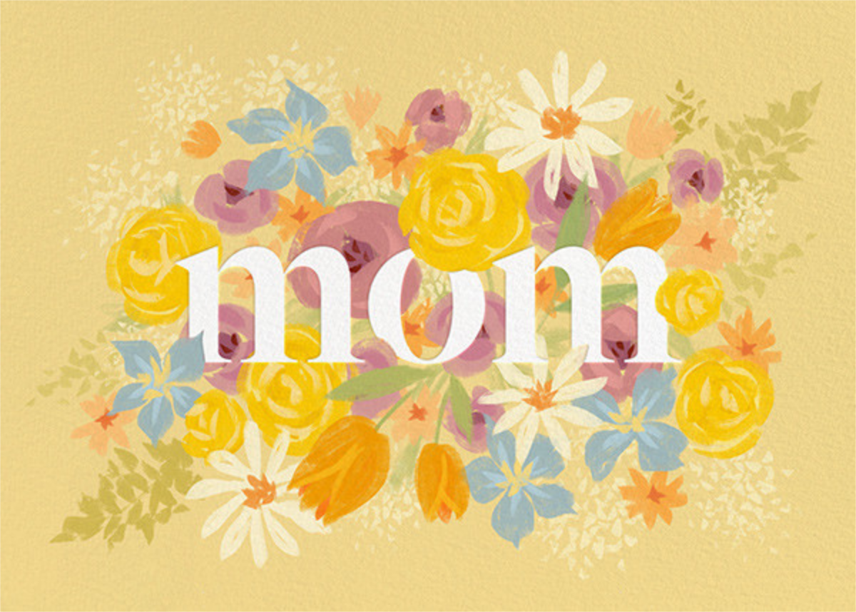 Mom in Bloom - Paperless Post - Mother's Day