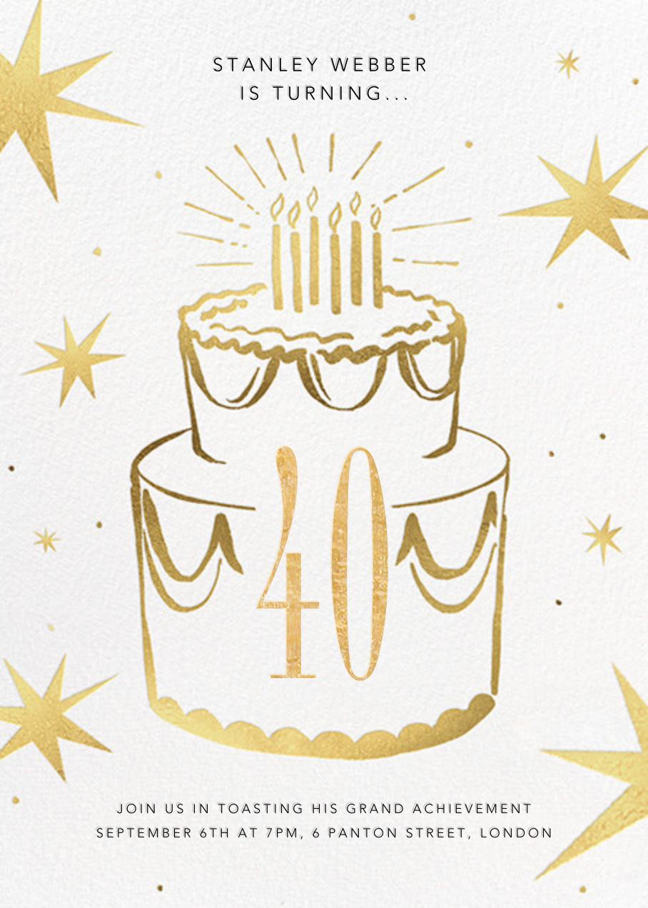 Big Year - Paperless Post - Adult birthday