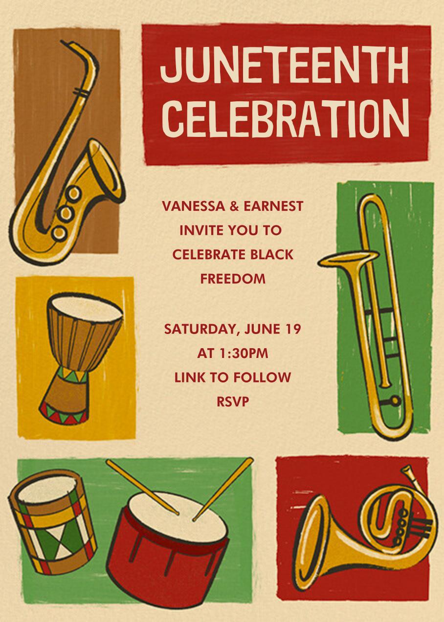 Juneteenth Celebration - Paperless Post - Juneteenth