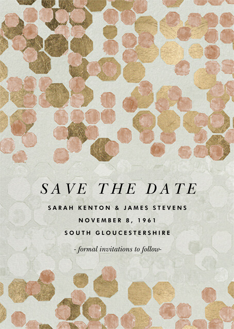 Hex - Kelly Wearstler - Save the date