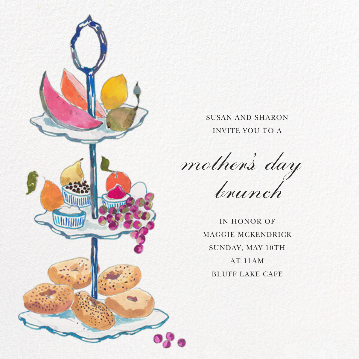 Three Tiers - Happy Menocal - Mother's Day