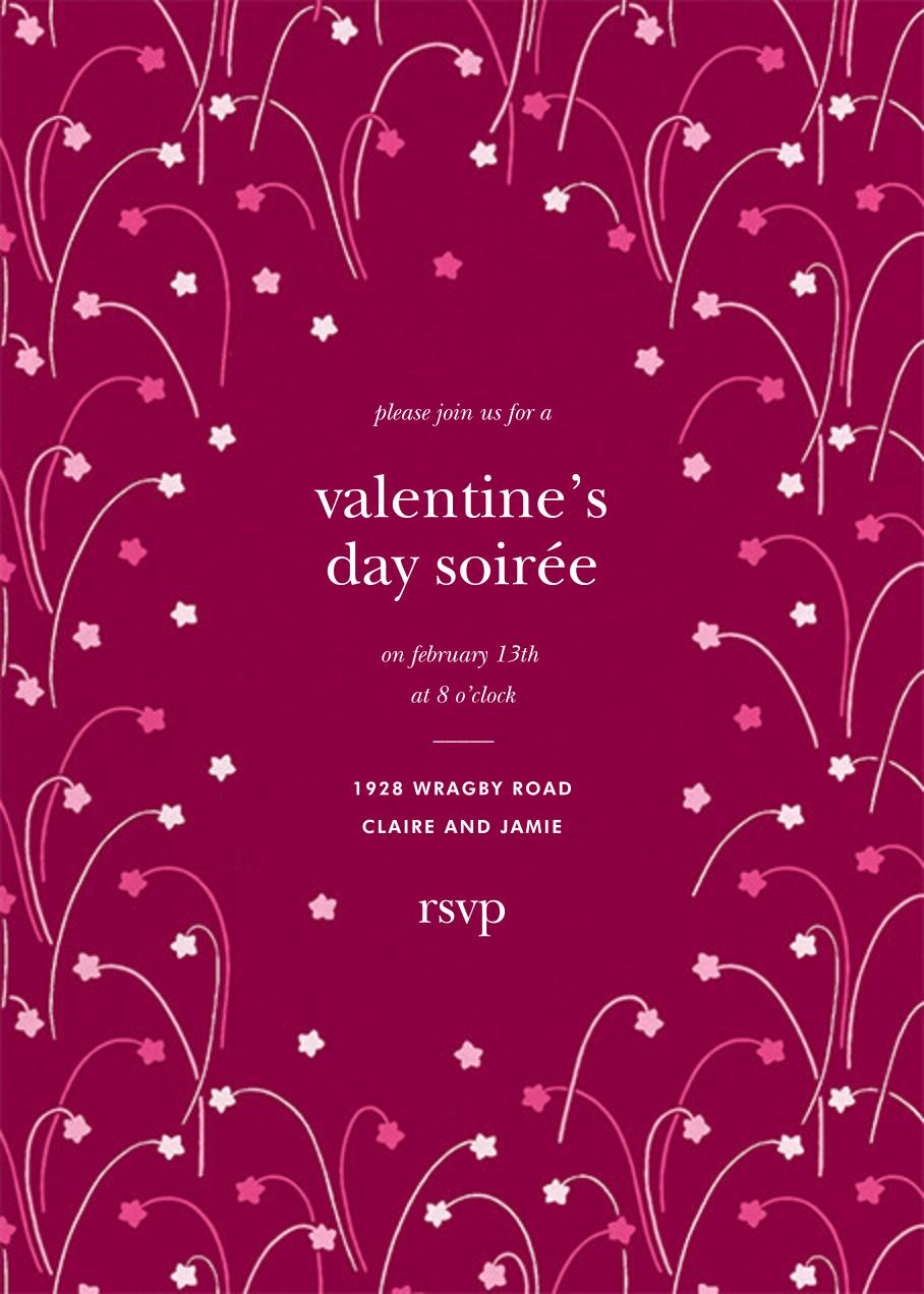 Long Stems - Raspberry - kate spade new york - Valentine's Day