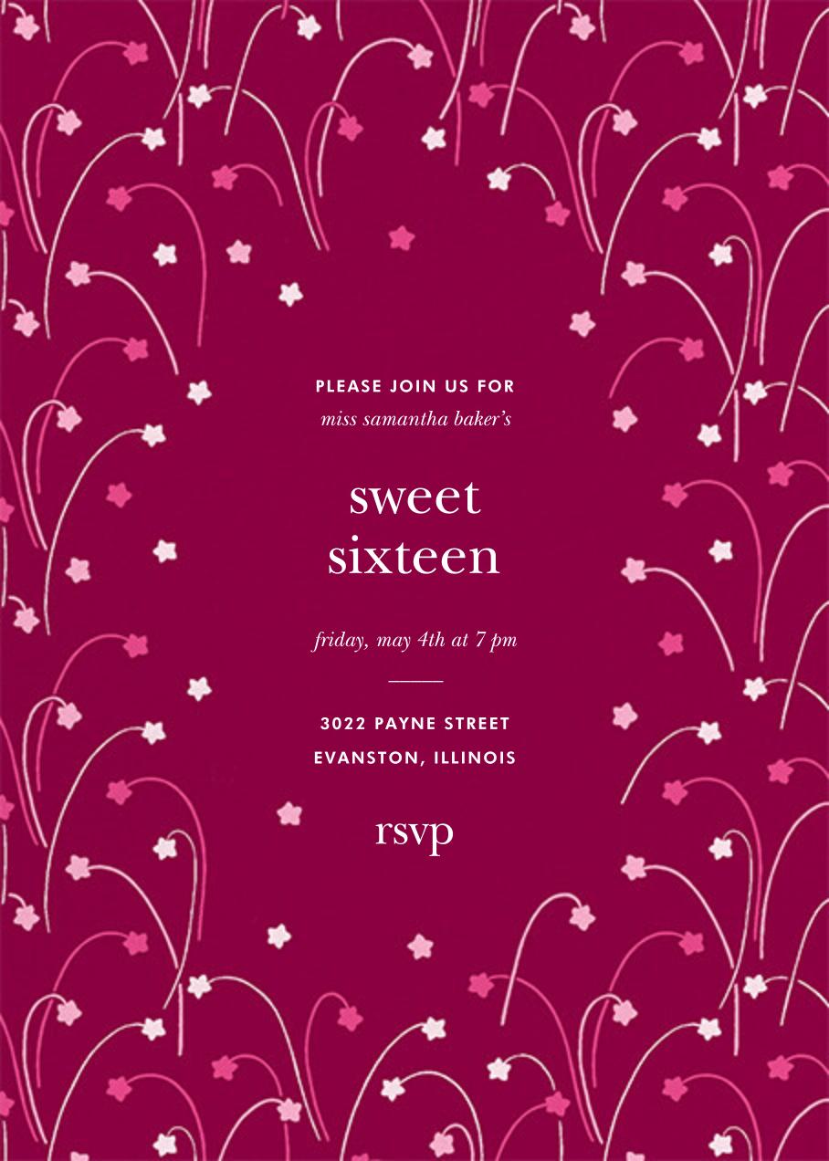 Long Stems - Raspberry - kate spade new york - Birthday