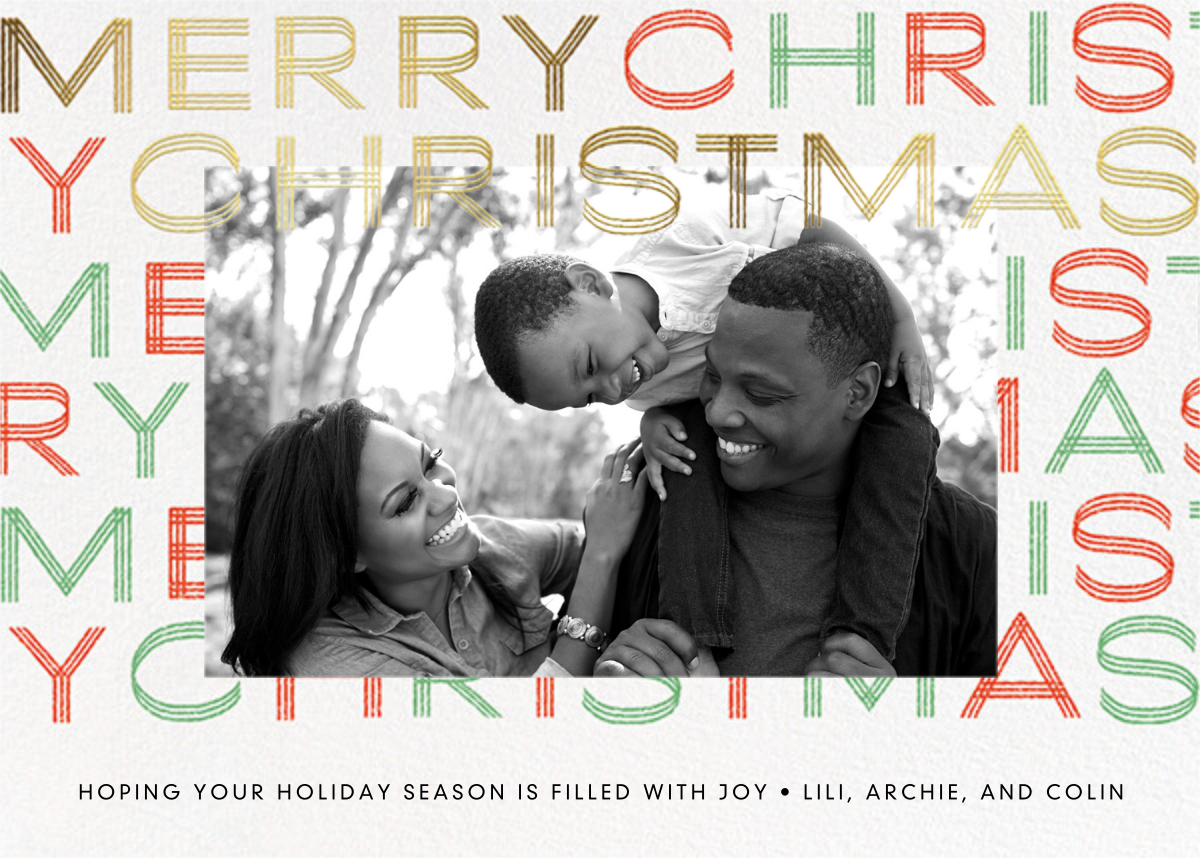 Very Merry - Paperless Post - Holiday cards