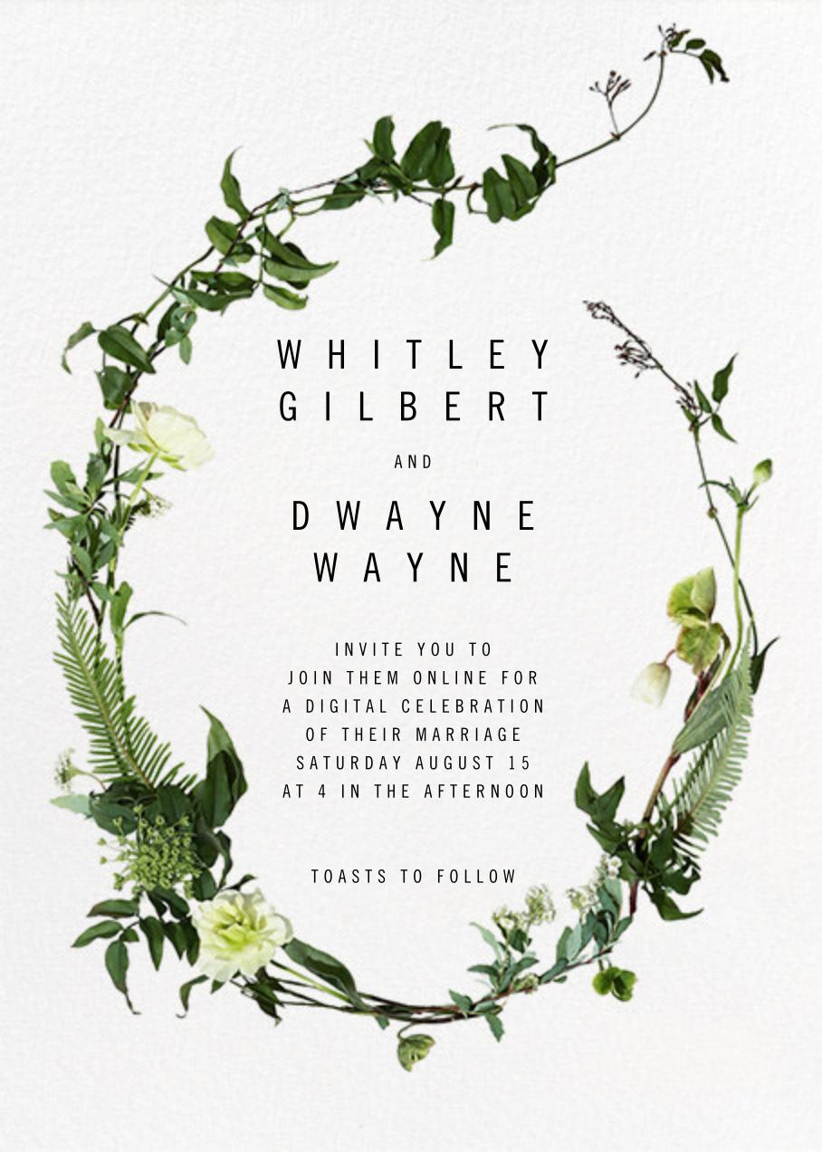Chincoteague (Invitation) - Paperless Post - Virtual wedding