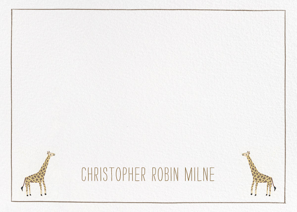 Friends at the Zoo - Paperless Post - Personalized stationery